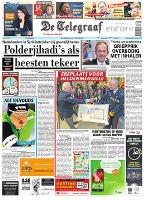 Telegraaf 26 okt 2013 frontpage