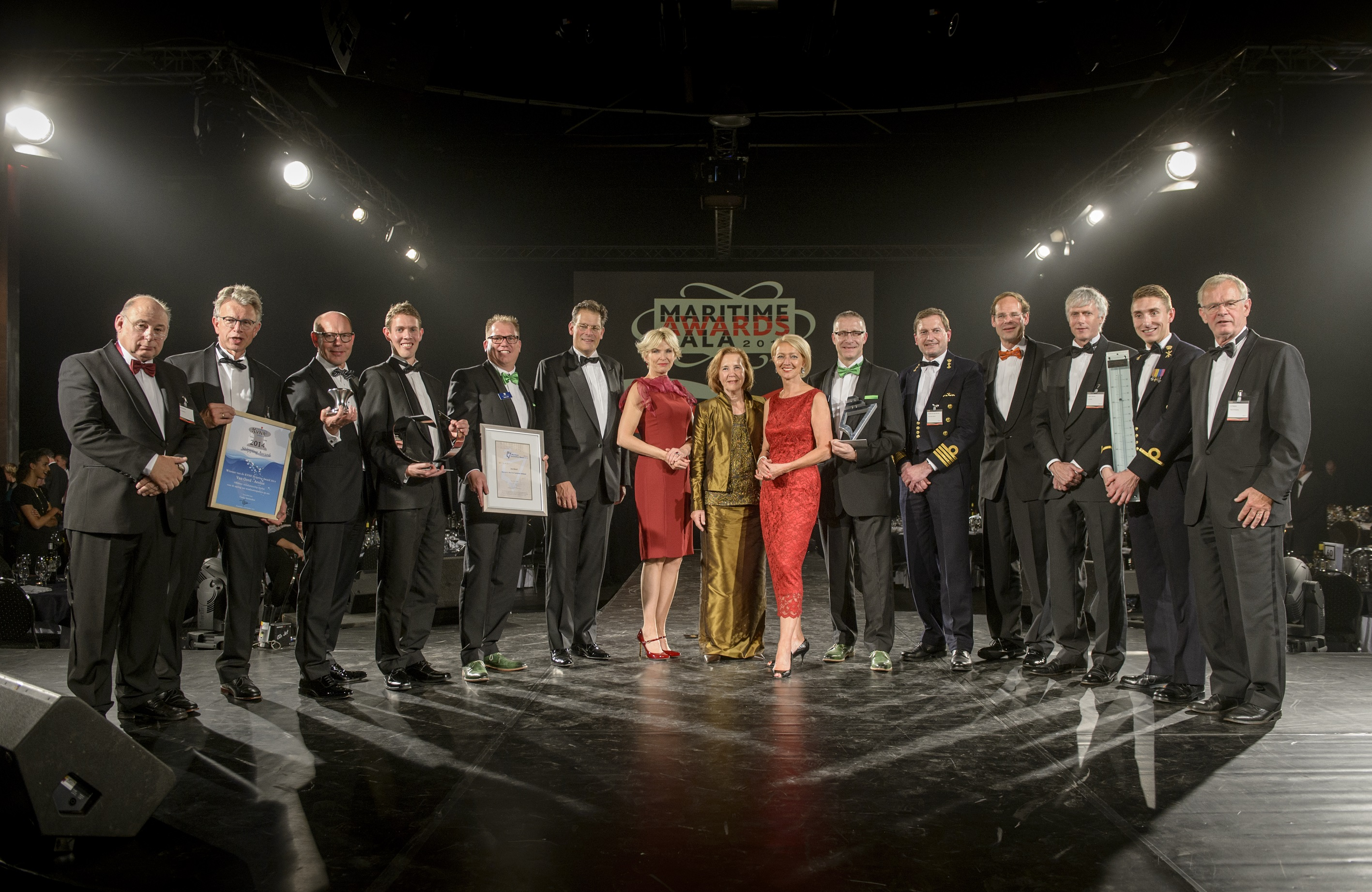 Maritiem Award Gala winners