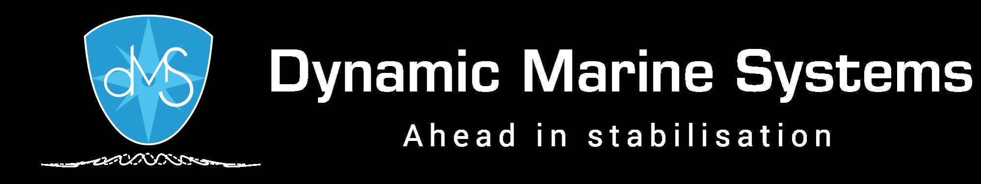 DMS Holland logo / witte tekst