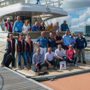 Sea trials with international journalists