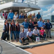 Sea trials with international journalists