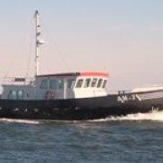 RotorSwing stablilisation system in Martin Bekebrede Trawler