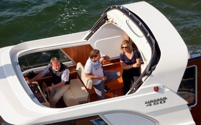 MagnusMaster voorspelt een stabiele relatie aan boord van de Linssen Range Cruiser 450.