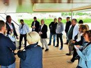 International press visits with AntiRoll equiped MY Santa Maria T