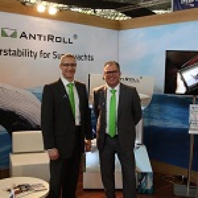 AntiRoll and RotorSwing at METS Achieving super (yacht) success
