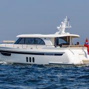 Steeler NG59 S-Line auf dem Weg zur Cannes Boat Show mit MagnusMaster