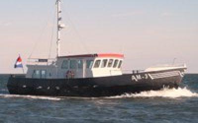 RotorSwing stabilisatiesysteem in Martin Bekebrede Trawler