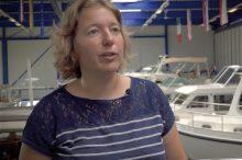 Yvonne Linssen, owner Linssen Yachts