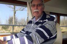 Mr C. de Heer, owner MY Shanty