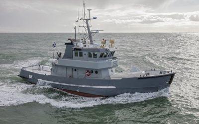 Nieuwe stabilisatoren voor MV Astra