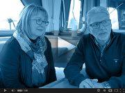 Mr & Mrs Ineichen, owners MY Meander