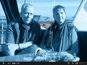 Mr & Mrs von Braunschweig, owners MY Schedir
