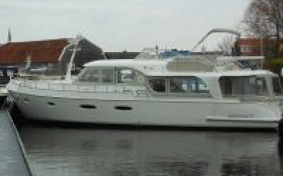 DMS Holland op Motorboot Sneek