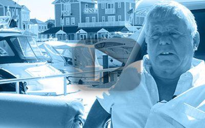 Mr de Paauw, owner MY Yvonne