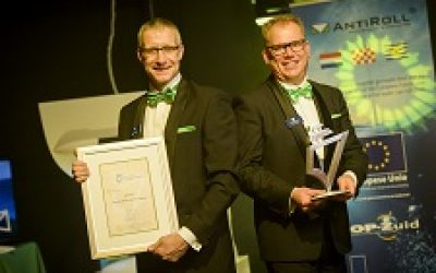 AntiRoll trotse winnaar Maritime Innovation Award