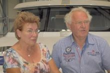 Herr und Frau Dücker, Eigner der MY Rio Grande