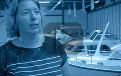 Yvonne Linssen, eigenaar Linssen Yachts