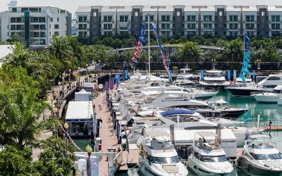 DMS Holland bezoekt Singapore Boatshow 2017