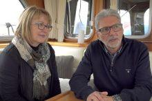 Herr & Frau Ineichen, Eigner der MY Meander