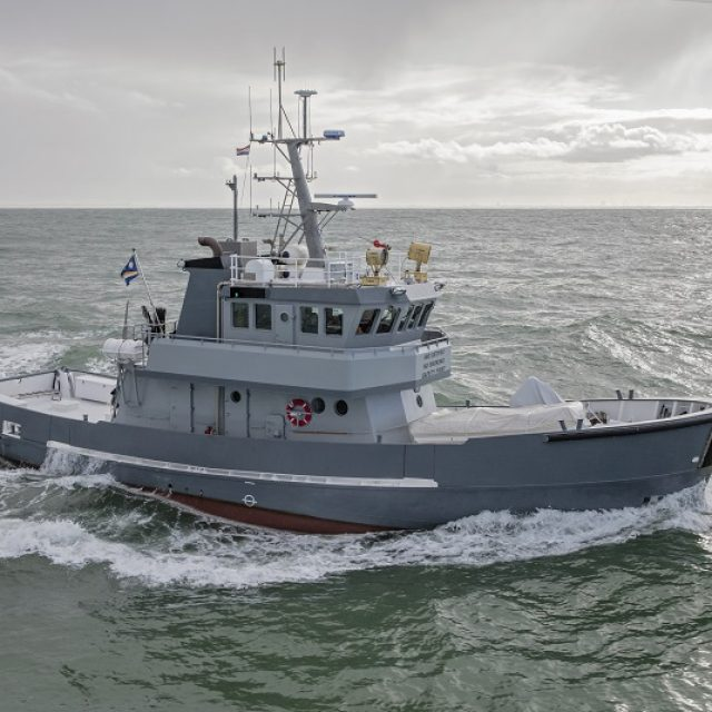 New stabilizers for MV Astra –  a result of the cooperation between DMS Holland and Balk Shipyard