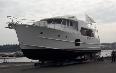Beneteau Swift Trawler 52 equipped with MagnusMaster