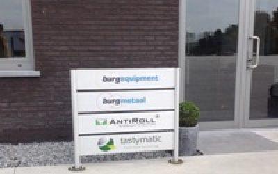 Burgmetaal productiepartner van AntiRoll