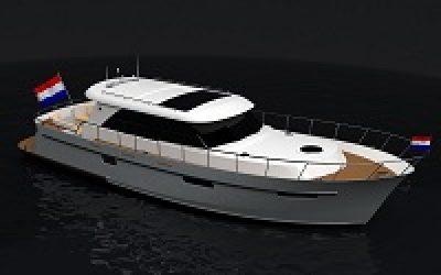 Super Lauwersmeer Evolve 46 OC uitgerust met RotorSwing
