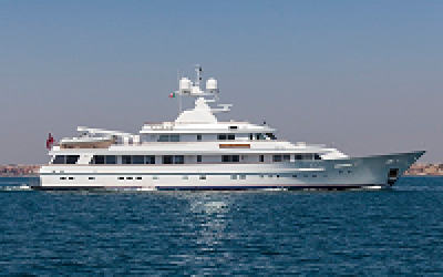 AntiRoll roll damping system for 50m Feadship