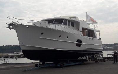 Beneteau Swift Trawler 52 met MagnusMaster