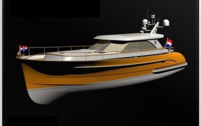 Magnus Master an Bord von Serious Yachts