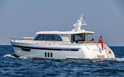 Steeler NG59 S-Line off to Cannes Boat Show with MagnusMaster