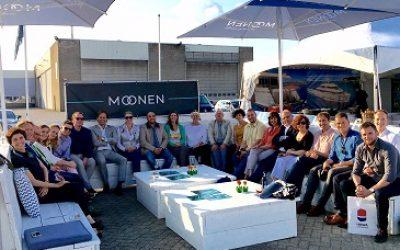 Internationale Journalisten aus dem Schifffahrtsbereich besuchen Den Bosch