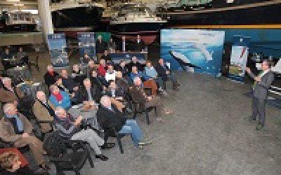 Veel belangstelling voor rotorsysteem onder KNMC leden