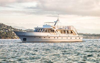 DMS Greece erhält ersten Auftrag für ehemalige Königliche Yacht