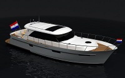 Super Lauwersmeer SL 460 mit offener Plicht wird mit RotorSwing ausgestattet