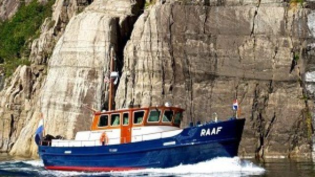 MagnusMaster op omgebouwd visserij-inspectieschip MY Raaf