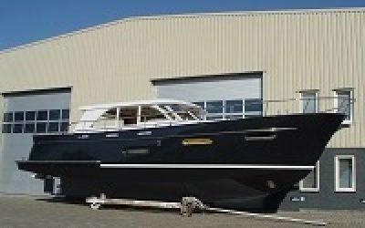 Primeur Super Lauwersmeer met rotorsysteem op Motorboot Sneek