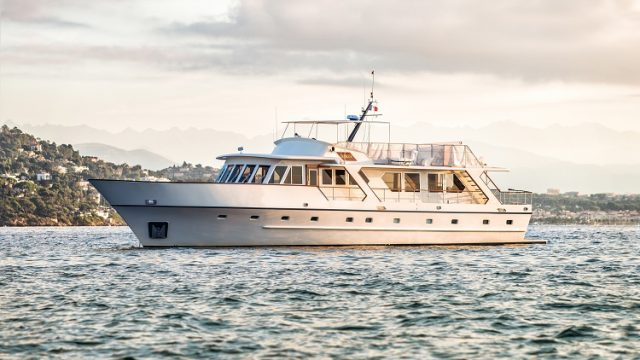 First contract for DMS Greece to be for a former royal yacht