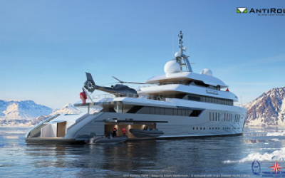 AntiRoll chosen for expedition yacht